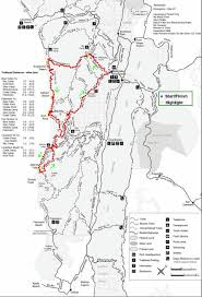 Map Running Route by Point Reyes Adventure Running