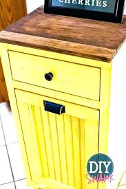 kitchen island with garbage bin trash storage cabinet trash bin storage kitchen island home design