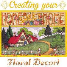 creating your home sweet home floral décor tribute journal