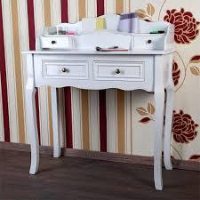 Schreibtisch Eiche Modern Schreibtisch Sekretär Tisch Landhaus Weiß Real