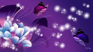 glitter wallpaper with butterflies blue and purple flower and butterflies full hd wallpaper and