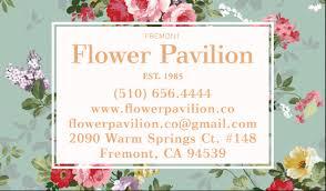 fremont flowers fremont flower pavilion howie ju
