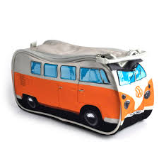 volkswagen orange orange volkswagen camper van wash bag pink cat shop