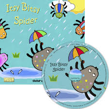 itsy bitsy spider classic books with holes 8x8 with
