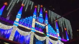 Saks Fifth Avenue Unveils Holiday Light Show Winter Palace