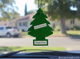 got the trees on my mirror so my car won t smell bricknerd