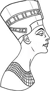 nefertiti egypt coloring countries u0026 culture amazing