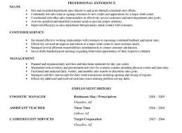 Resume Goal Statement Examples by Examples Cool Accountant Portrait Sales Objectives Retail