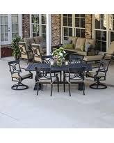 surprise savings on cast aluminum patio dining sets