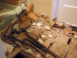 Water Under Bathroom Floor Bathroom Replace Bathroom Subfloor Replace Bathroom Subfloor