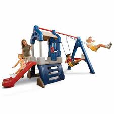 Backyard Play Equipment Australia Toddler Swing And Outdoor Play Clubhouse Swingset Little Tikes