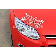 aliexpress buy kitty cartoon car stickers princess