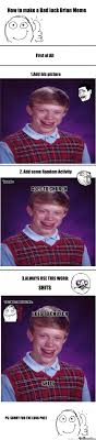 Make Bad Luck Brian Meme - how to make bad luck brian meme by mrcornell meme center