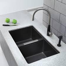 Kitchen Undermount Sink Kitchen Sinks Kgu 434b 33 1 2 Undermount 50 50 Bowl
