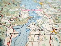 Maps Seattle Seattle Raised Relief Map From Onlyglobes Com