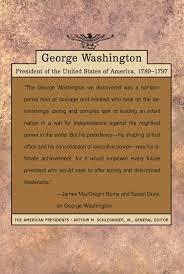 amazon com george washington the american presidents series