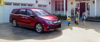 the 2018 honda odyssey shows off technological advancements new