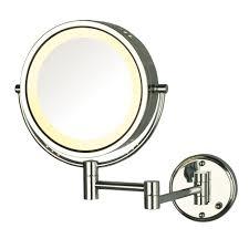 bathroom makeup mirror wall mount wall makeup mirrors bathroom mirrors the home depot