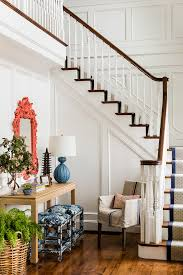 contemporary stair runners staircase victorian with coral mirror