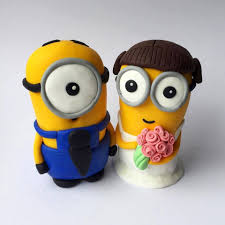 minion wedding cake toppers 28 images items similar to minion