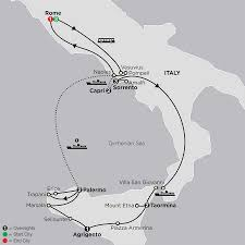 Map Of Pompeii Italy by Rome Sorrento And Capri With Sicily 63152017 16 Days Starting