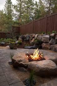 Fire Pit Rocks by Best 25 Diy Gas Fire Pit Ideas On Pinterest Firepit Glass Gas