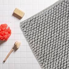 Luxury Bathroom Rug Dii Ultra Soft Plush Spa Cotton Pebble Absorbent
