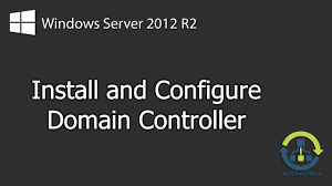 how to install windows server 2012 r2 domain controller step by