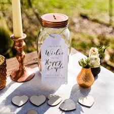 wedding wishes jar 6 perfectly pretty wedding guest books scottish wedding directory