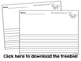 kinder writing paper recap of week 12 and peek at my week 13 little minds at work i forgot to snap pictures but they turned out great you can snag the freebie writing paper we used by click on the link below