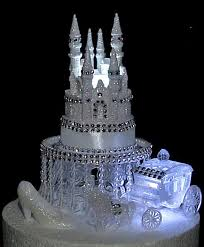 cinderella castle cake topper disney castle cake topper cinderella castle coach horses lighted