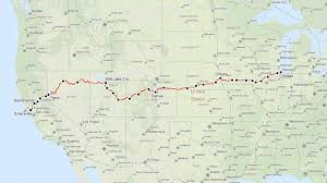 Amtrak Map Schedule by San Francisco To Las Vegas In 5 Hours By Train A Map For A