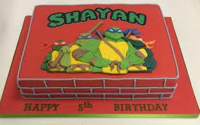 teenage mutant ninja turtles home decor 2d teenage mutant ninja turtles cake boys birthday cakes