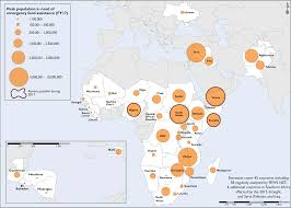 Africa Map Countries by Famine Warning Issued In Four Countries Following Worst African