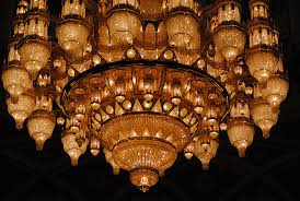 Sultan Qaboos Grand Mosque Chandelier Biggest Vintage Chandeliers In The World Vintage Industrial Style