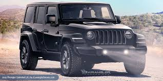 jeep wrangler pickup 2018 jeep wrangler pickup render shows us what the future could be