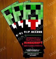 etsy minecraft invitations stephenanuno com