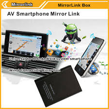 mirror link android universal car mirror link adapter smartphone screen for android