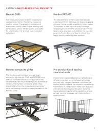 Residential Steel Beam Span Table by Multi Residential Building Solutions