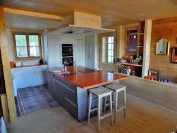 cuisine chalet bois tapis pour cuisine inspirational cuisine pour chalet ambiance