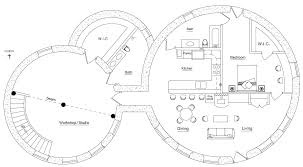 Earth Homes Plans Custom Roundhouse Cluster Earthbag House Plans