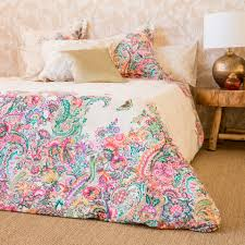 Paisley Pop Duvet Cover Oversized Paisley Print Bedding Paisley Print United States And