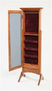 armoire mission oak jewelry armoire free shipping wooden jewelry