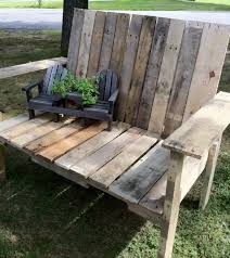 15 Unique Pallet Picnic Table 101 Pallets by Wood Pallet Reuse Wood Projects Pinterest Pallets Wood