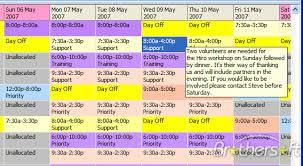 Restaurant Employee Schedule Template Excel Free Employee Schedule Template 23674832 Png Scope Of Work Template