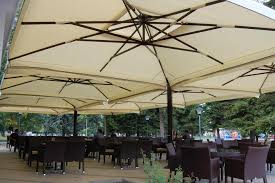 Patio Umbrella Covers Replacement by Furniture Large Tilting Patio Umbrella Giant Pool Umbrella