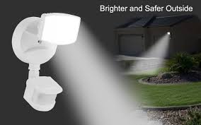 Outdoor Motion Sensor Security Lights by Bestten Outdoor Led Motion Sensor Security Light 20w 120w