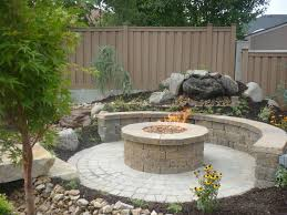 Paver Patio Kits Great Circular Paver Patio Kit With Large Outdoor Pit