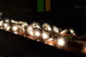 white five leaf clover fairy lights for bedroom wall nylon string