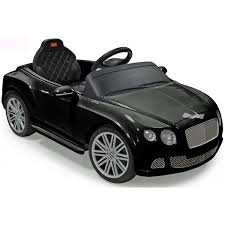 bentley white and black bentley continental gt licensed 12v electric battery ride on